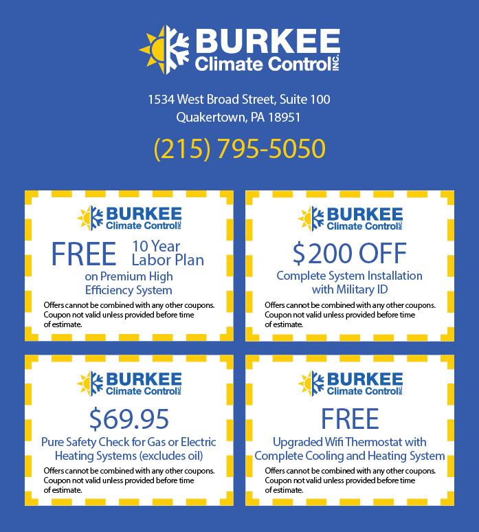 Burkee Climate Control Specials